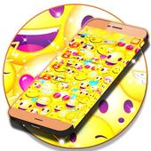 Emoji 2017 SMS Free Theme icon