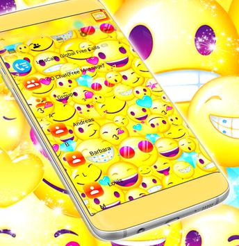 Emoji 2017 SMS Free Theme screenshot 4