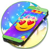 Emoji Love SMS icon