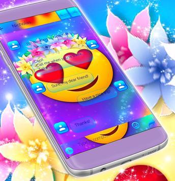 Emoji Love SMS screenshot 3