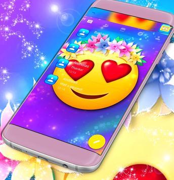Emoji Love SMS poster