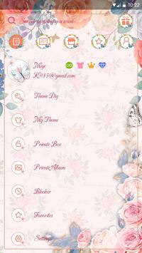 (FREE) GO SMS ABBY THEME screenshot 4