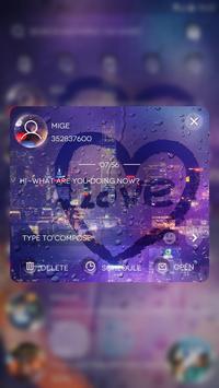 (FREE) GO SMS LOVE MEMORY THEME apk screenshot