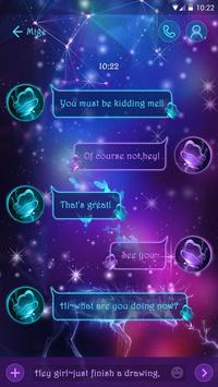 (FREE) GO SMS MAGIC POWER THEME screenshot 1