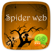 (FREE) GO SMS SPIDER WEB THEME icon