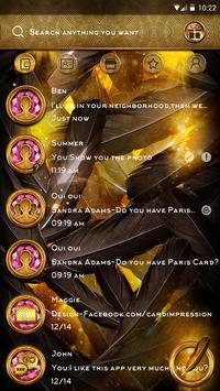 (FREE) GO SMS THE KING THEME apk screenshot