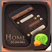 (FREE) GO SMS PRO HOME THEME icon
