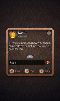 (FREE) GO SMS PRO HOME THEME screenshot 3