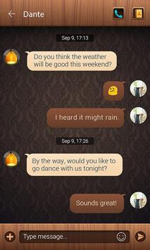 (FREE) GO SMS PRO HOME THEME screenshot 1