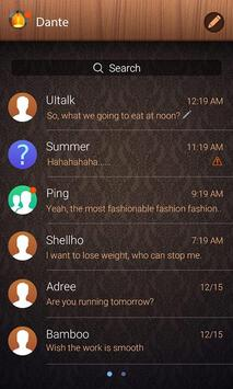 (FREE) GO SMS PRO HOME THEME screenshot 2