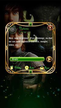 (FREE) GO SMS HOW TO TRAIN YOUR DRAGON THEME apk screenshot