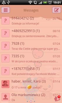 GO SMS Pro Loving Bears Theme for Android - APK Download