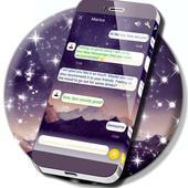 Mountain Tops SMS Theme icon