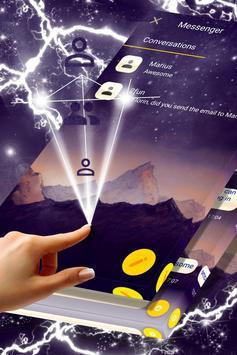 Mountain Tops SMS Theme poster