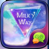(FREE) GO SMS MILKY WAY THEME icon