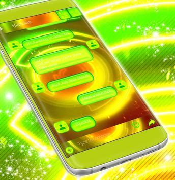 Neon SMS Themes apk screenshot