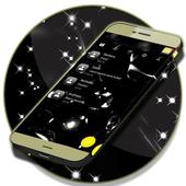 Sms Black Theme icon