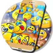 SMS Keyboard Emojis icon