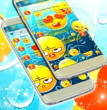 SMS With Emoji apk screenshot