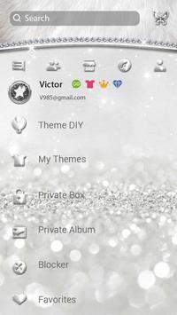 (FREE) GO SMS SLIVER THEME screenshot 4