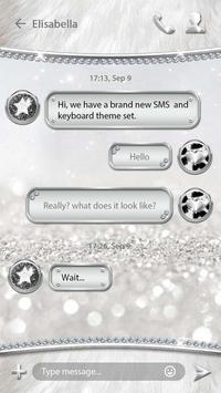 (FREE) GO SMS SLIVER THEME screenshot 2