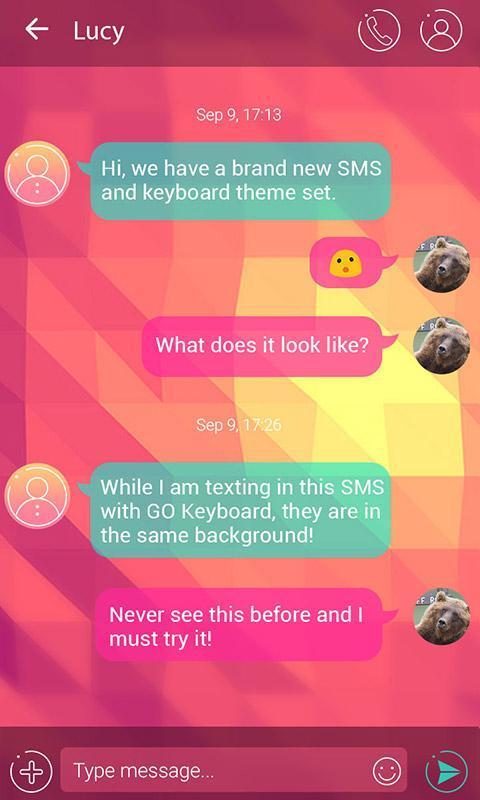 go sms message