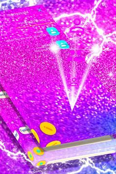 Pink Chunky Glitter SMS screenshot 1