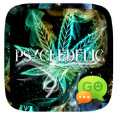 (FREE) GO SMS PSYCHEDELIC THEME icon