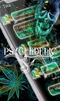(FREE) GO SMS PSYCHEDELIC THEME poster