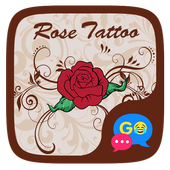 (FREE) GO SMS ROSE TATTOO THEME icon