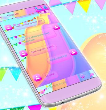 Water Drop Message Theme screenshot 3