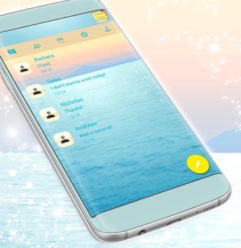 Water Drop SMS Message screenshot 2