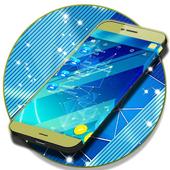 Free Blue SMS Theme icon
