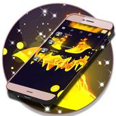 Text Message Backgrounds Halloween icon