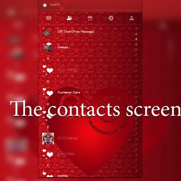 The Sweetest Ever GOSMS THEME apk screenshot