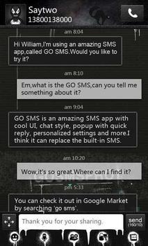 GO SMS Pro Theme Thief - KP poster
