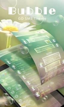 (FREE) GO SMS BUBBLE THEME poster
