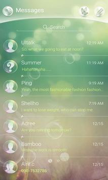 (FREE) GO SMS BUBBLE THEME screenshot 1