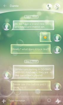(FREE) GO SMS BUBBLE THEME screenshot 2