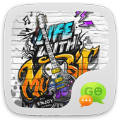 (FREE) GO SMS MUSIC LIFE THEME icon