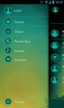 (FREE) GO SMS PRO DAWN THEME apk screenshot