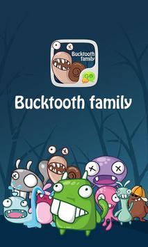 GO SMS Pro BuckTooth Sticker apk screenshot