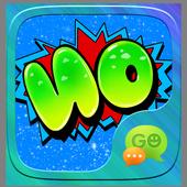 GO SMS GRAFFITI WORD STICKER icon