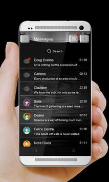 Anime danaid GO SMS screenshot 1