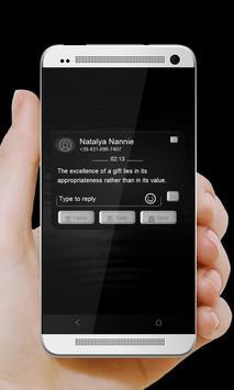 Anime danaid GO SMS screenshot 3