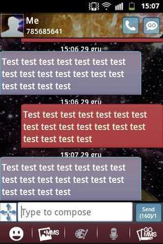 GO SMS Theme Galaxy 2 apk screenshot