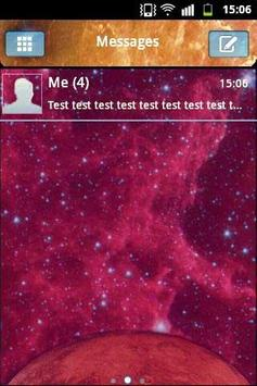 Galaxy Theme GO SMS PRO poster