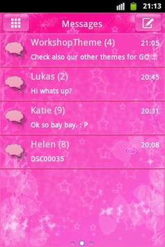 Pink star go sms theme apk download free personalization app for pink star go sms theme poster altavistaventures Gallery