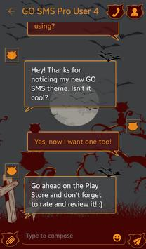 Bats and Cats for GO SMS apk screenshot