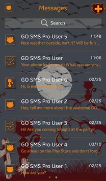 Bats and Cats for GO SMS screenshot 2